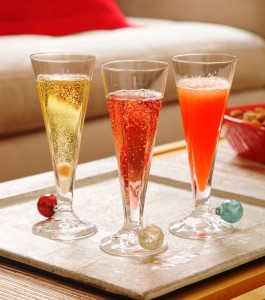 December champagne drinks