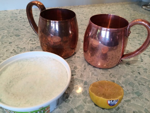 Before And After Moscow Mule Mugs